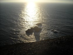 Sunset from the Point Sur Lighthouse
