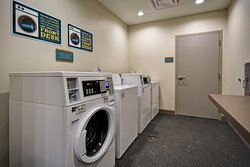 Spin2 Cycle, Integrated Laundry and Fitness Facility