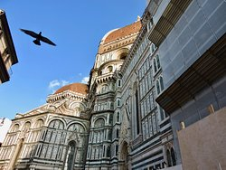 Side view of Duomo
