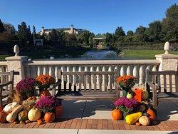 Beautiful view at Hershey Gardens.