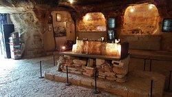 Мыс Калиакра, побережье Болгарии, музей в пещере