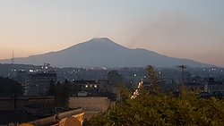 View over Etna