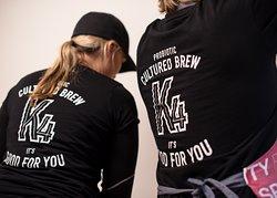 Brewing Kombucha at The K4 Brewery