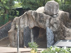 Entrance of Cave temple