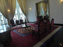 Raumausschnitt vom Empfangssalon des Präsidenten / Presidental Reception Rooms (2)