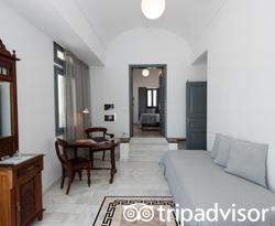 The Caldera View Honeymoon Suite at the Xenones Filotera