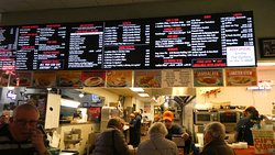 Overhead menu