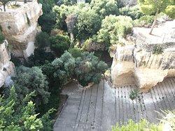 View over the Latomie dei Cappuccini