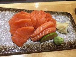 Salmon Sashimi Appetizer.
