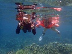 バリ島アメッドでシュノーケリング