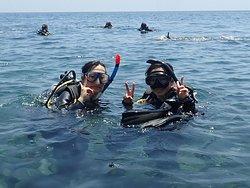 バリ島トランベン 体験ダイビング