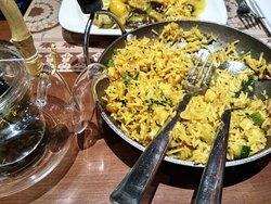 Burmese fried rice.