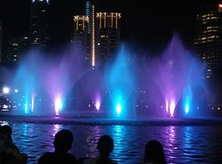 Beautiful Water and Light Show