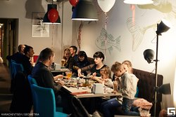 Как всегда в нашем ресторане много маленьких гостей))