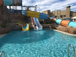 Great aqua park, onsite with lifeguard on duty!