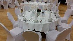 Eine Hochzeitsveranstaltung bei uns im Saal