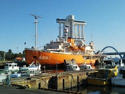 Antarctic Research Ship Fuji