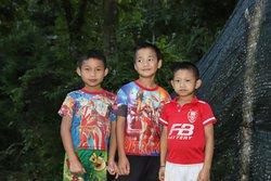 Children from the village.
