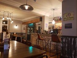 Interior. bar area