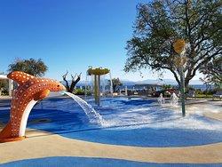 Children's splash zone between Sea and Sky