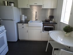 Small kitchens with all the necessary appliances