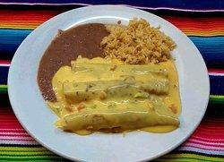 Our Traditional Texas Enchiladas !