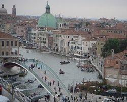 Venezia: il ponte di Calatrava visto dall'alto