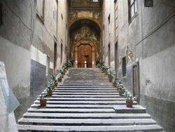 scalone per Chiostro di San Gregorio