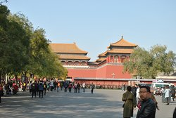 entrance to the palace museum