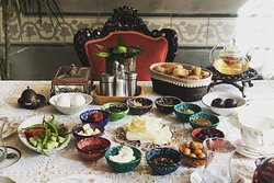 Traditional Turkish Breakfast in Istanbul