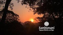 Sunset @ the beautiful Resort