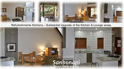 Extensive Kitchen upgrade - and tiles through Kitchen/lounge and patio