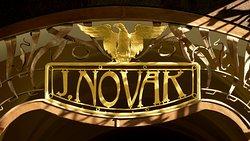 Art Nouveau sign, New Town