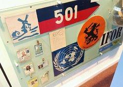 De twee grote museumzalen staan ook stil bij de diverse buitenlandse missies waar de genie aan heeft deelgenomen.