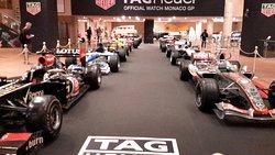 Some Formula 1 racers