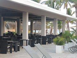 Sea Blue restaurant by the beach