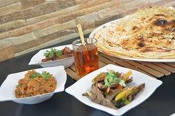 Breakfast at Rubban Alkhaleej Foul and beans