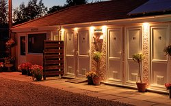 First class park lighting all-year-round at Bath Chew Valley Caravan Park