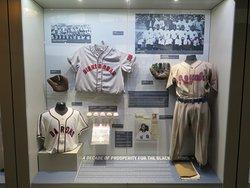 Negro League display
