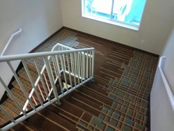 Open, large stairwells
