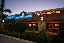 Stix Billiard Club front façade.