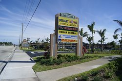 Located on US1 in central Stuart, you can't miss Stix Billiard Club.