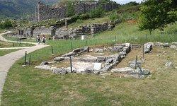 Αρχαιολογικός χώρος Δωδώνης .  Ο ναός της Αφροδίτης .