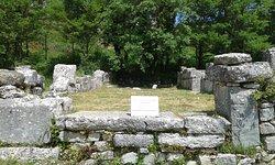 Αρχαιολογικός χώρος Δωδώνης . Παλαιοχριστιανική Βασιλική .