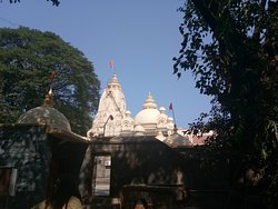 rear view of the temple