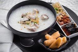 Cantonese style rice porridge