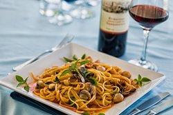 Spaghetti com Vongole