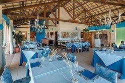 Nosso restaurante vista mar