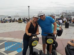 Riding a #cruise #ship into #Boston this fall? Find us near #FaneuilHall to #cruise the #city with your #friends and #family 😎 #Segway #tours show you so much, in so little time! 😃 www.bostonsegwaytours.net
