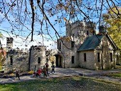 很美麗的一個小城堡